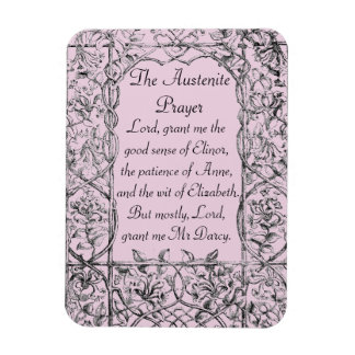 Austenite Prayer Magnet