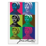 AustenPop -- Estilo de Jane Austen Felicitación