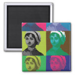 AustenPop -- Estilo de Jane Austen Iman De Frigorífico