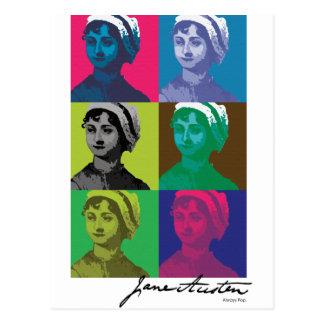 AustenPop -- Estilo de Jane Austen Postales