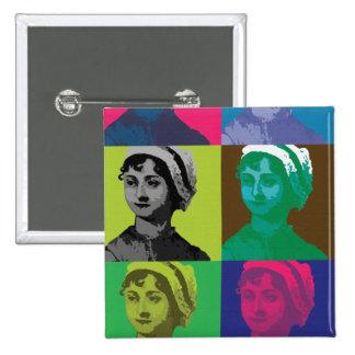 AustenPop -- Jane Austen style Pin