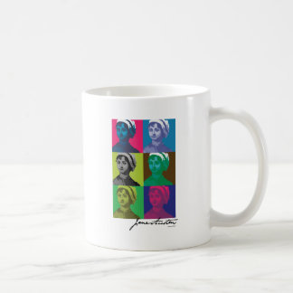 AustenPop -- Jane Austen style Coffee Mug