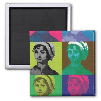 AustenPop -- Jane Austen style Magnet