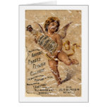 Austen's Forest Flower-1908 - distressed Greeting Cards
