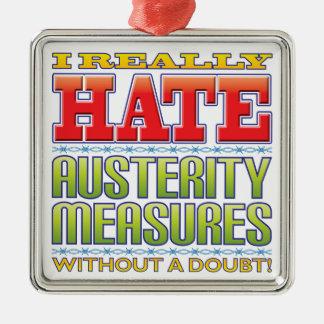 Austerity Measures Hate Ornament