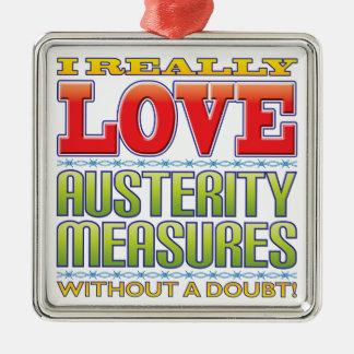 Austerity Measures Love Ornament