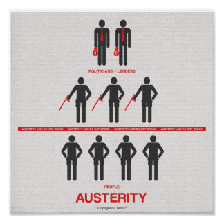 Austerity Poster