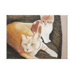 Austi And Friend Gallery Wrap Canvas