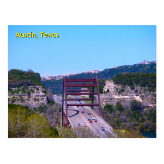Austin 360 Bridge Postcard