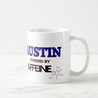 Austin accionó por el cafeína taza básica blanca