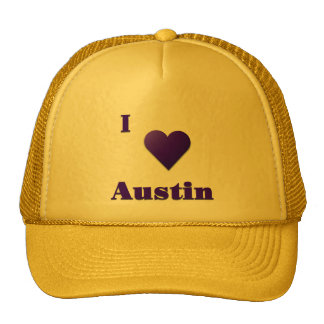Austin -- Azul de medianoche Gorras