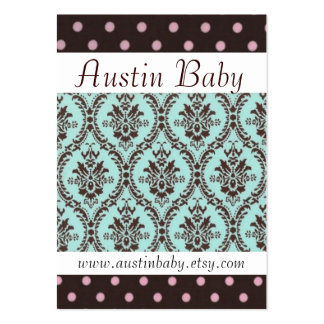 Austin Baby Card Large Business Card