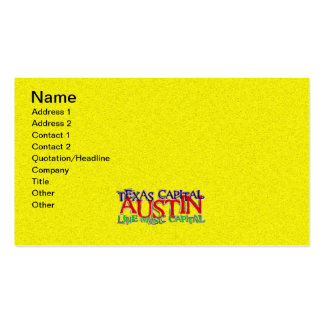 AUSTIN BUSINESS CARD