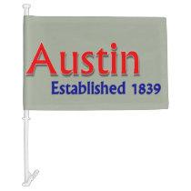 Austin Car Flag
