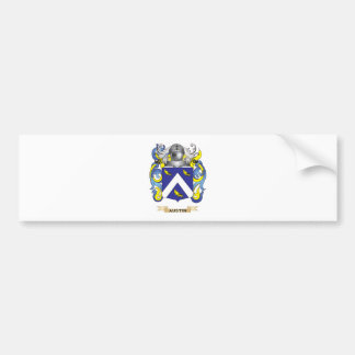 Austin Coat of Arms (Family Crest) Car Bumper Sticker