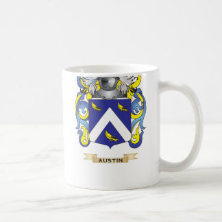 Austin Coat of Arms (Family Crest) Coffee Mug