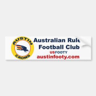 Austin Crows Bumper Sticker