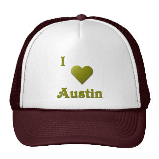 Austin -- De color verde oscuro Gorro