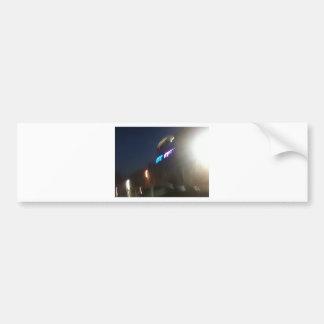 Austin en el movimiento etiqueta de parachoque