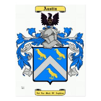 austin (english) postcard