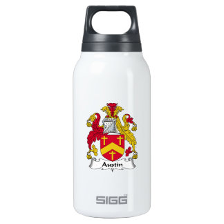 Austin Family Crest Thermos Bottle