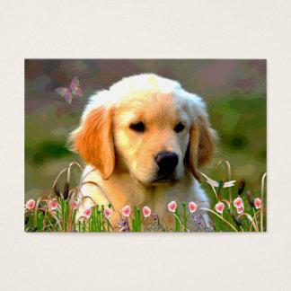 Austin Golden Labrador Puppy Business Card