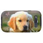Austin Golden Labrador Puppy Samsung Galaxy SIII Cases
