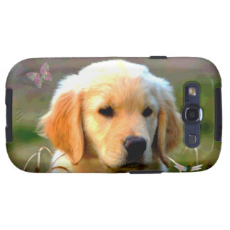 Austin Golden Labrador Puppy Samsung Galaxy S3 Cover