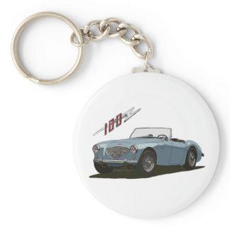 Austin Healey 100 Keychain
