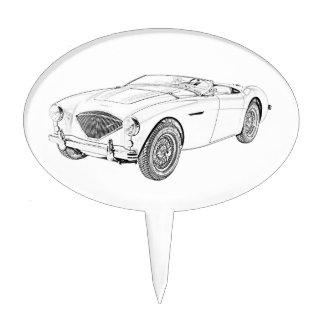 Austin Healey 1953 100 Palillos De Tarta