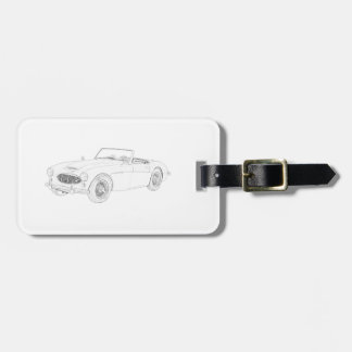 Austin Healey 1960 Tags For Bags