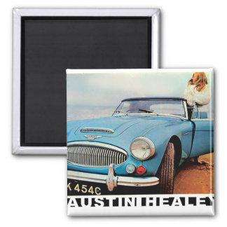 Austin Healey 3000 advert Magnet