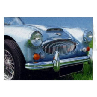 Austin Healey 3000 Stationery Note Card