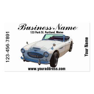 Austin Healey 300 Sports Car Business Card