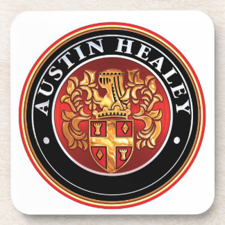 austin Healey Badge Beverage Coaster