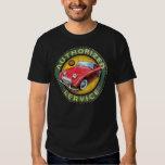 Austin Healey Bugeye sprite service sign T-shirt