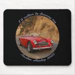 Austin Healey Sportscar rojo Mousepad Tapete De Raton