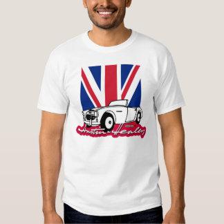 Austin-Healey Union Jack script Tee Shirt