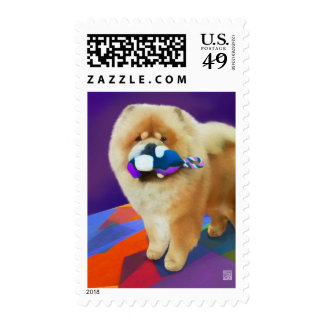 AUSTIN heARTdog chow Stamp