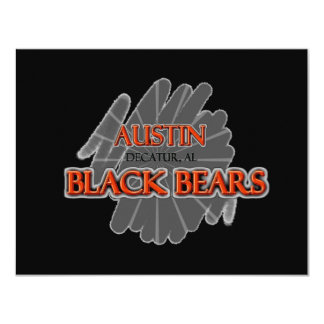 Austin High School Black Bears - Decatur, AL Card