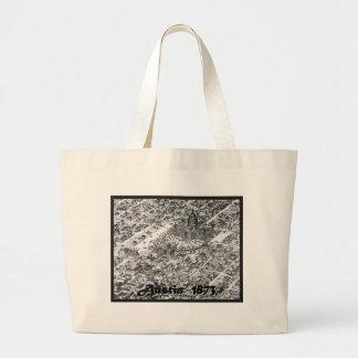 Austin Historic Map 1873 Bags