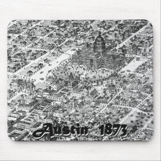 Austin Historic Map 1873 Mouse Pad