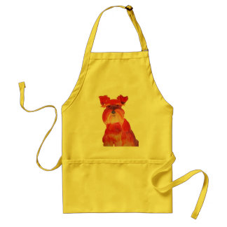 Austin in Red Adult Apron