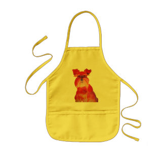 Austin in Red Kids' Apron