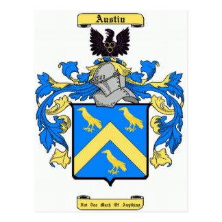 austin (irish) postcard