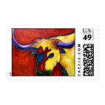 Austin longhorn stamp