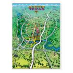 Austin Map Postcards