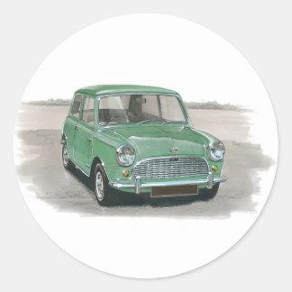 Austin Mini Mk1 Classic Round Sticker