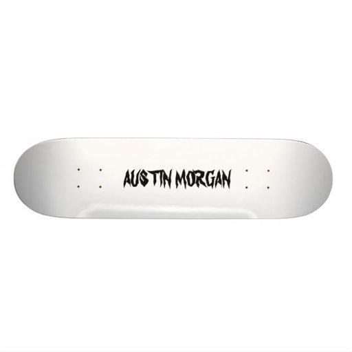 AUSTIN MORGAN SKATEBOARD DECK