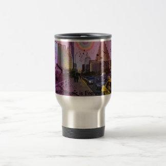 Austin Music Travel Mug